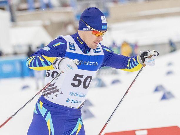 Nikolai Tshebotko oli tuttu näky Kazakstanin hiihtomaajoukkueessa.
