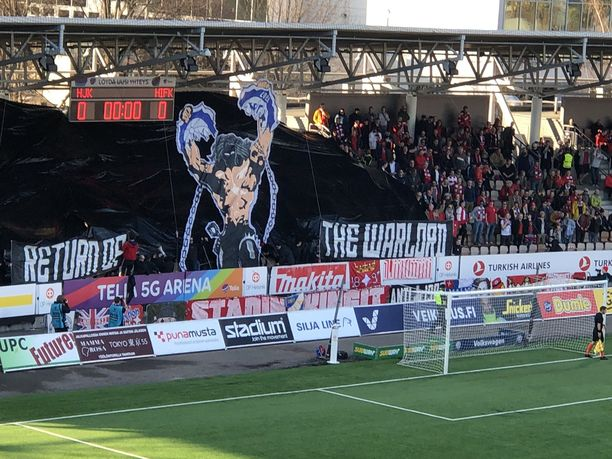 Töölössä pelattiin Helsingin herruudesta.