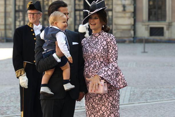Prinssi Carl Philip, prinssi Alexander ja prinsessa Sofia.