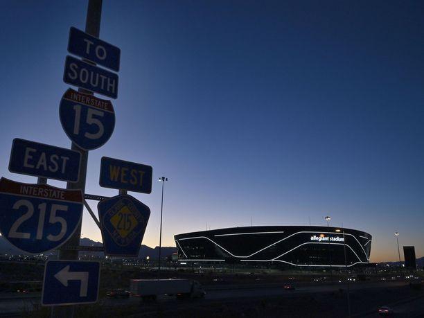 Las Vegasin tuoreen NFL-joukkueen tuoreen kotistadionin lempinimi on Star Warsista tuttu Kuolemantähti.