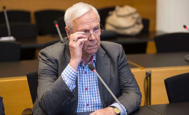 Vantaan entinen kaupunginjohtaja Jukka Peltomäki.