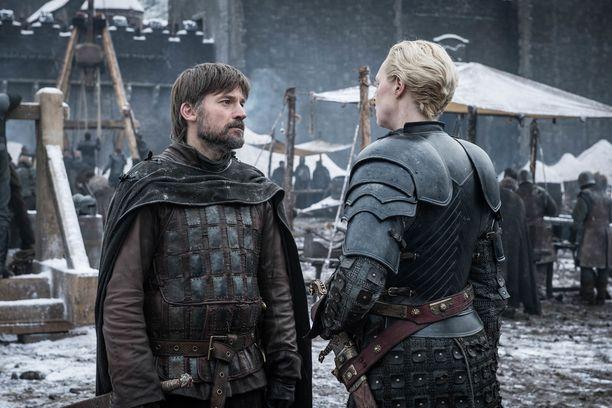 Katsojat ovat toivoneet Jaime Lannisterin ja Ser Briennen päätyvän yhteen.