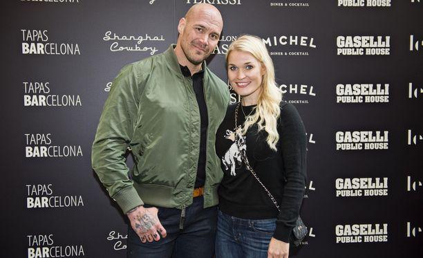 Renne Korppila ja Iida Ketola-Korppila menivät naimisiin vuonna 2016.
