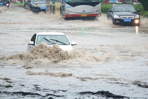 Taifuuni Lekima on tämän vuoden voimakkain taifuuni. Se on vaikuttanut 13 miljoonan ihmisen elämään Kiinassa vajaan viikon aikana.