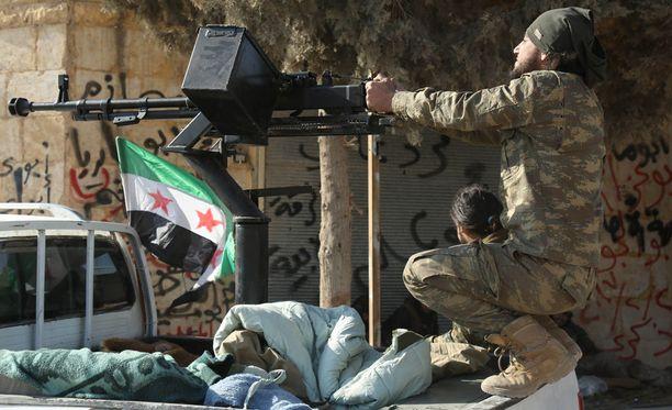 Turkin armeija on tukenut kapinallisten pyrkimyksiä Al Babin vapauttamiseksi.