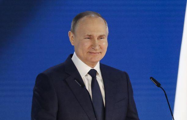 Presidentti Putin piti vuotuisen valtakunnan tila -puheensa keskiviikkona.