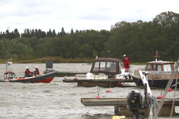 Veneet olivat helisemässä Porissa.