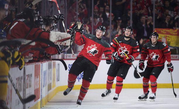 Kanada eteni nuorten MM-kisojen loppuotteluun.