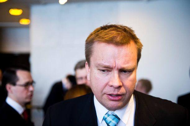 Antti Kaikkonen, keskusta
