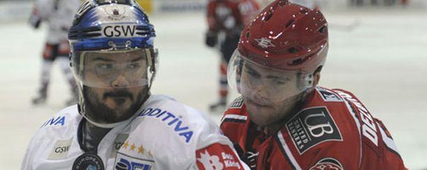 Jeff Friesen ja Eddie Delgrosso väänsivät Vantaalla.
