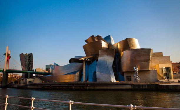 Guggenheim-museo Espanjan Bilbaossa.
