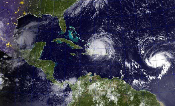 Jose-hurrikaani tulee Irman perässä.