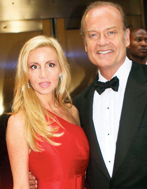 ERO Frasier-tähti Kelsey Grammerin vaimo Camille Donatacci on jättänyt avioerohakemuksen.