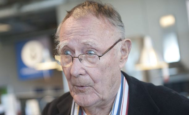 Ikean perustaja Ingvar Kamprad kuoli 91-vuotiaana kotonaan.