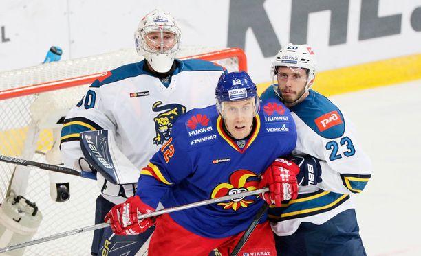 Marko Anttila ja Jokerit taipuivat Sotshille.