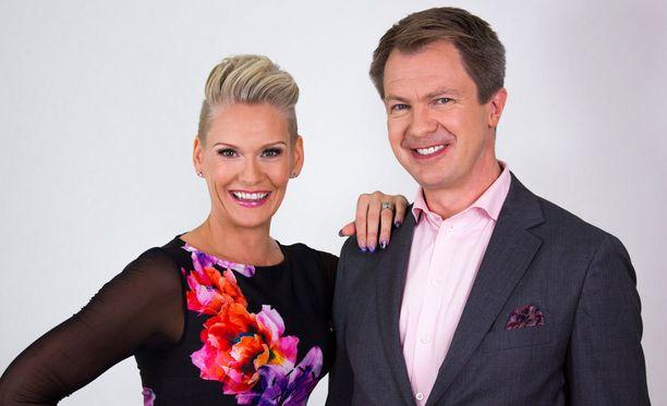 Heidi Sohlberg ja Peter Nyman juontavat illan suoran lähetyksen.
