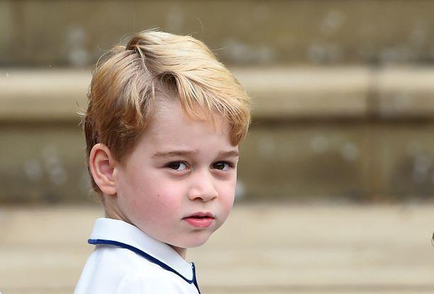 Williamin ja Katen esikoinen George on jo viisivuotias.