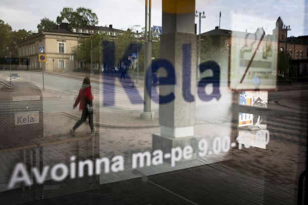 Kelan toimisto Tampereella.