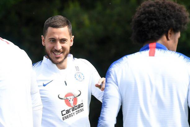 Chelsea yleensä menestyy tai kaatuu Eden Hazardin mukana.