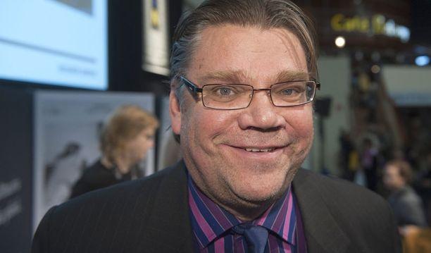 Timo Soini on saanut Kikeltä selvät ohjeet ruokavaliosta ja nukkumisesta.