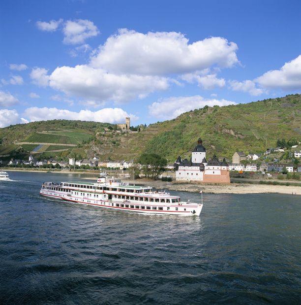 Rein on suosittu jokiristeilykohde.