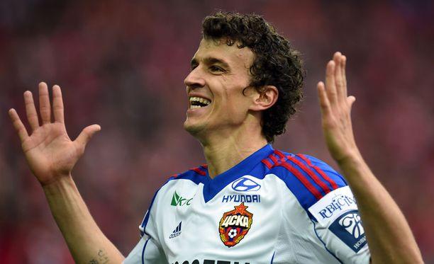 Roman Eremenko mätti tällä kaudella 13 maalia.