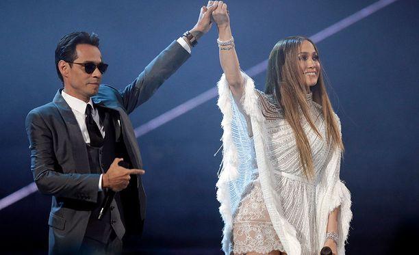 Marc Anthony ja Jennifer Lopez tekevät yhä nykyäänkin yhteistyötä.
