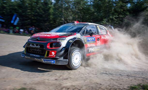 Citroenin Mads Östberg oli jälleen ek:n toiseksi nopein.