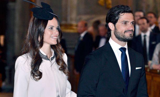 Prinssi Carl Philip ja Sofia Hellqvist vihitään tänä lauantaina Tukholman kuninkaallisessa kirkossa.