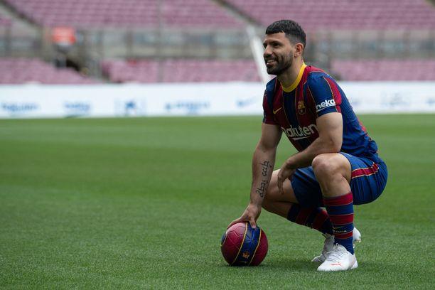 Sergio Agüero on loukkaantunut.