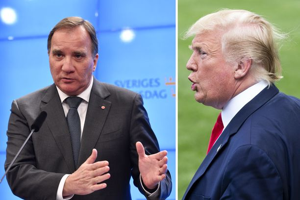Donald Trump on kertonut Twitterissä olevansa pettynyt siihen, ettei Ruotsin pääministeri Stefan Löfven auta Asap Rockya, joka on pidätettynä pahoinpitelysyytteen takia.