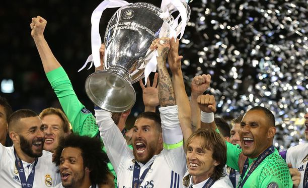Real Madrid uusi Mestarien liigan mestaruutensa Cardiffissa.