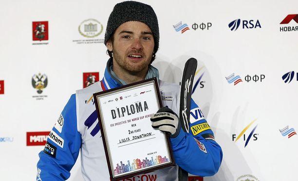 Jon Lillis voitti viime vuonna maailmanmestaruuden.