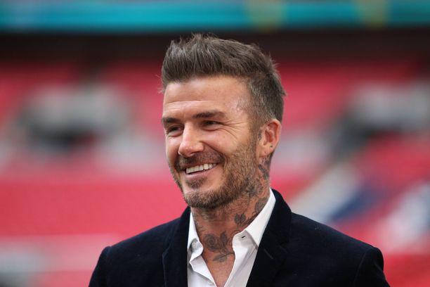 44-vuotias David Beckham on kolmen pojan ja yhden tytön, Harperin, isä.