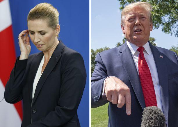 Yhdysvaltojen presidentti Donald Trump ja Tanskan pääministeri Mette Frederiksen ovat ajautuneet maiden läheisestä kumppanuudesta huolimatta törmäyskurssille, sillä Tanska ei halua keskustella itsehallintoalueensa myymisestä.