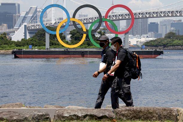 Olympialaisten avajaiset järjestetään perjantaina.