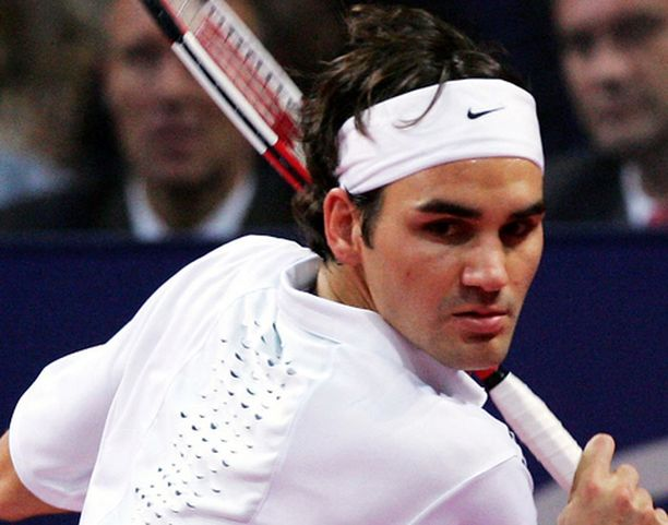 Roger Federer on väsynyt.
