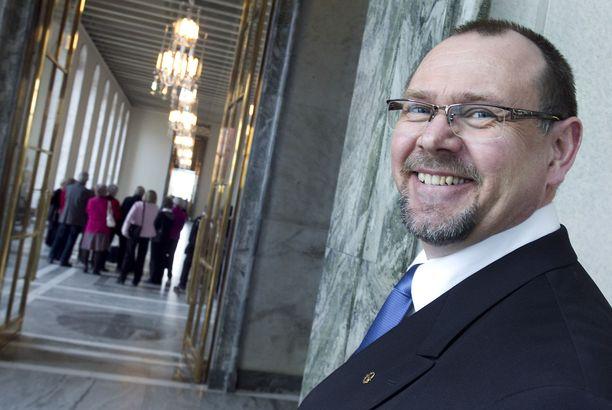 Reijo Hongisto toimi kansanedustajana vuosina 2011–2019.