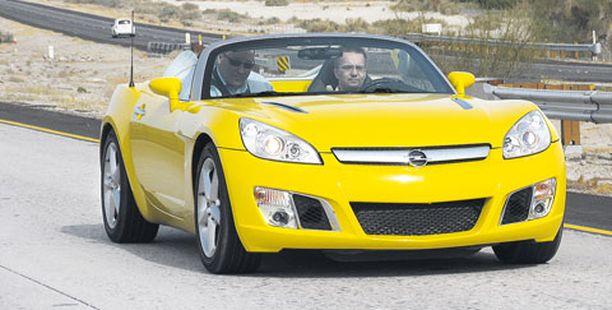 Voimakas muskelikeula tuo mieleen Corvetten muodot – tarkoituksella.