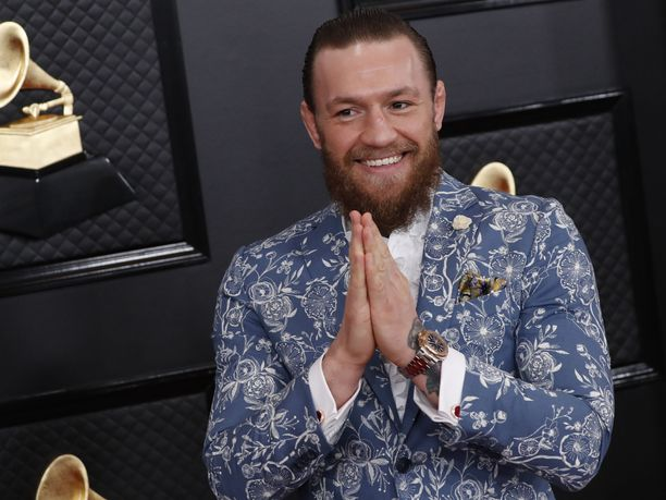 Conor McGregor on valmis ottelemaan taas tammikuussa.