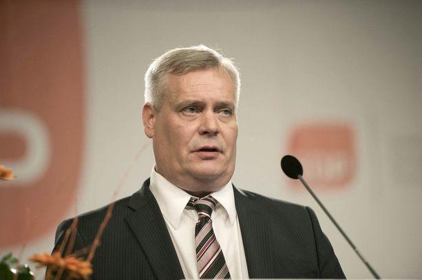 Kuva toukokuulta 2014, jolloin Rinne valittiin SDP:n johtoon.