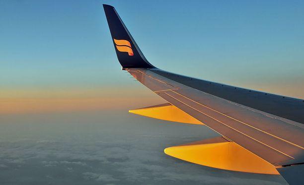 Icelandairin lennoilla voi seurata teatteria. Tosin tällä erää vain yhdellä reitillä.