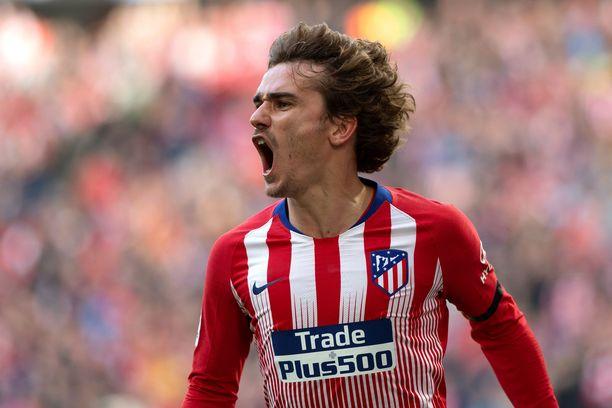 Antoine Griezmann ilmoitti Atléticon mukaan jo toukokuussa jättävänsä madridilaisseuran.