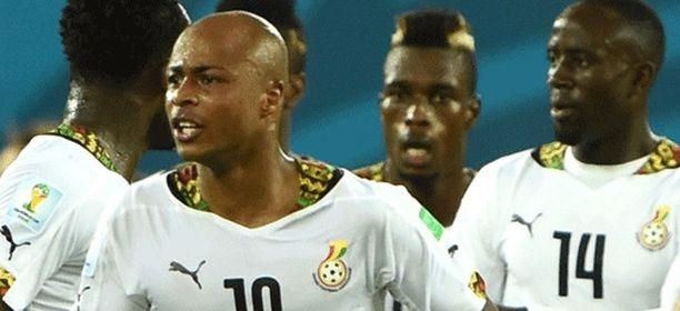 Ghanan MM-kisareissu meni puihin.
