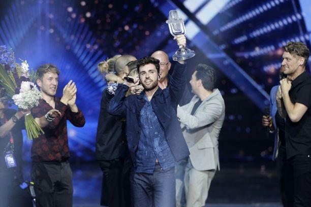 Tätä ei tänä vuonna nähty. Alankomaista kotoisin oleva Duncan Laurence voitti kevään 2019 Euroviisut Tel Avivissa, mutta seuraajaa hänelle ei ole valittu.