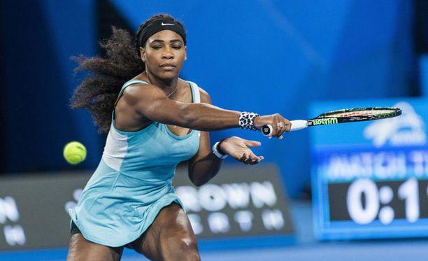 Serena Williams heräsi erätaukokahvin ansiosta.