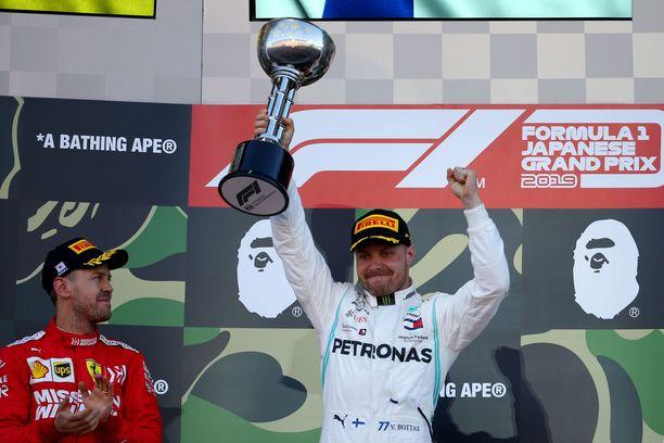 Valtteri Bottas nappasi uransa kuudennen GP-voiton Japanissa.