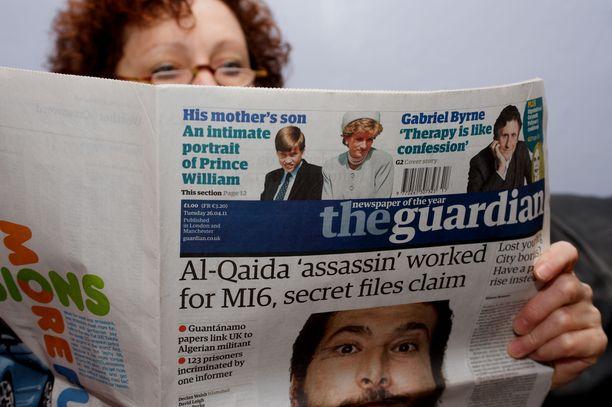 The Guardian -lehti on perustettu vuonna 1821.