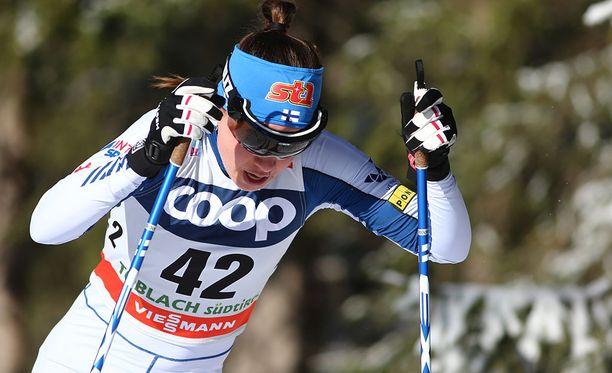 Kerttu Niskanen hiihti Lenzerheiden kympillä kauden parhaan maailmancup-sijoituksensa.