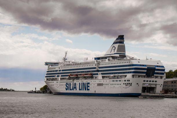 Silja Europalla matkustaneella henkilöllä todettiin koronatartunta heinäkuun alkupuolella. Useiden kerrottiin altistuneen. Kuvituskuva.